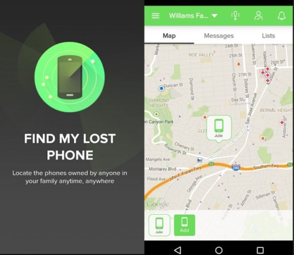 Андроид – Find Lost Phone